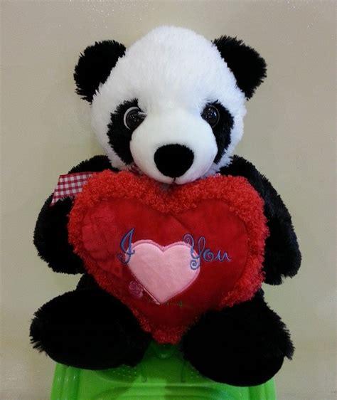 jual boneka boneka panda xl aqua wisely