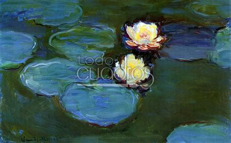 cuadros de manet water lilies de monet cuadros impresionista de flores