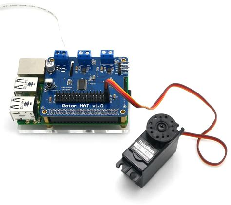 how to a motor with raspberry pi dc and servo motor driver hat for raspberry pi robotshop