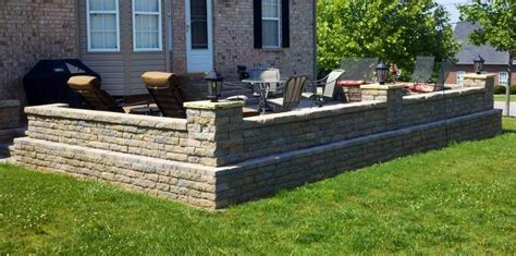 Raised Paver Patio Raised Paver Patio Lebanon Tn Gardens On Gardens On
