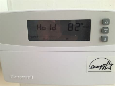 hvac   What does this square icon mean on my Honeywell thermostat?   Home Improvement Stack Exchange