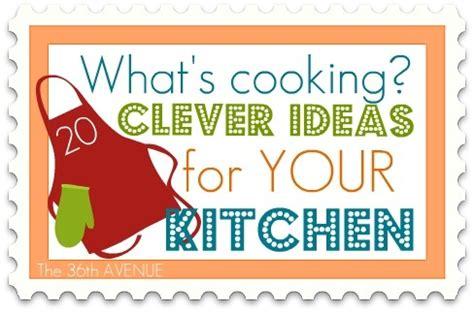 Ideas For Kitchen Organization Organization Ideas For The Kitchen Clever Kitchens And