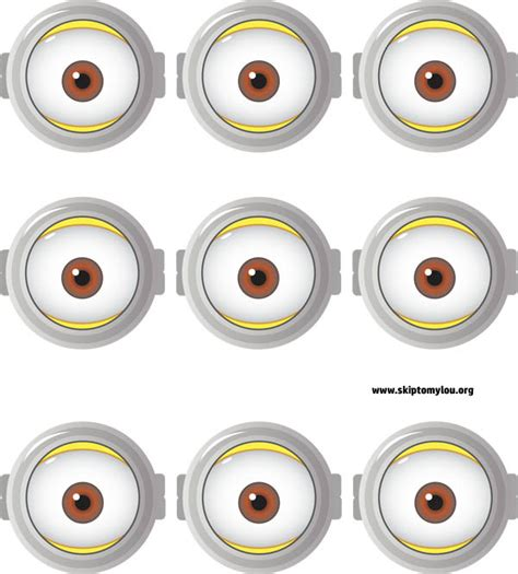 printable minion eyes template free printable minion goggles for drinking cups skip to