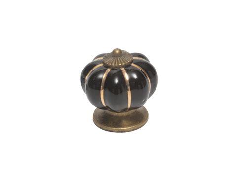 Ceramic Flower Knobs by Knob Ceramic Flower Black Magnavolt