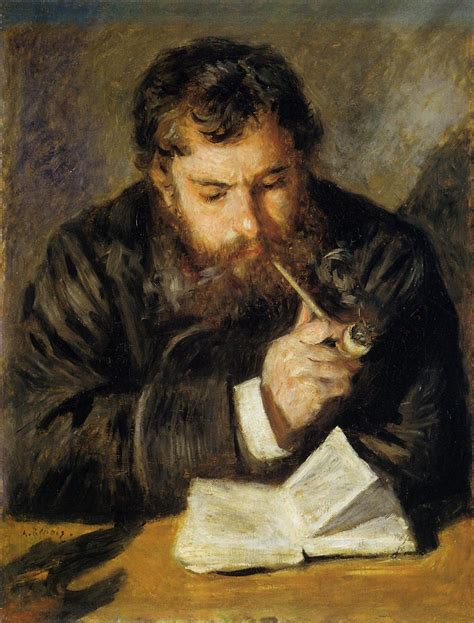 a portrait of the artist as a books claude monet the reader auguste renoir
