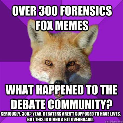 Fox Meme - forensics fox meme memes