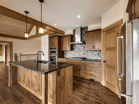 Engineered Hardwood Floors, Natural Alder Cabinets