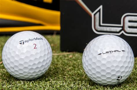 best golf ball for 105 mph swing taylormade lethal golf ball review