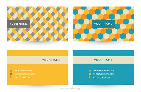 Graphic Designbusiness Card Template by Geometric Graphic Design Business Card Vector Templates