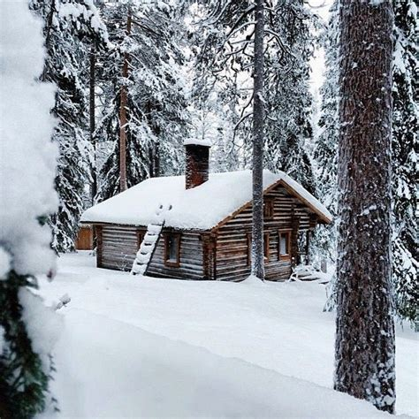 Winter Cabin A In The Fireplace And I Would Enjoy The Ambience
