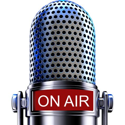 On Air In on the air microphone png www pixshark images