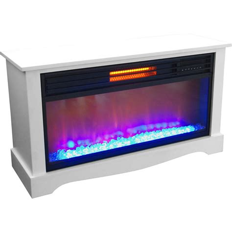 lifesource 20 quot heater fireplace with color change led