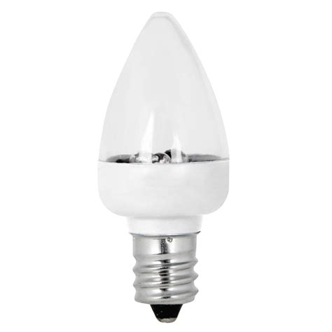Led Shop Light Bulbs Shop Feit Electric 2 Pack Soft White C7 Led Decorative Light Bulbs At Lowes