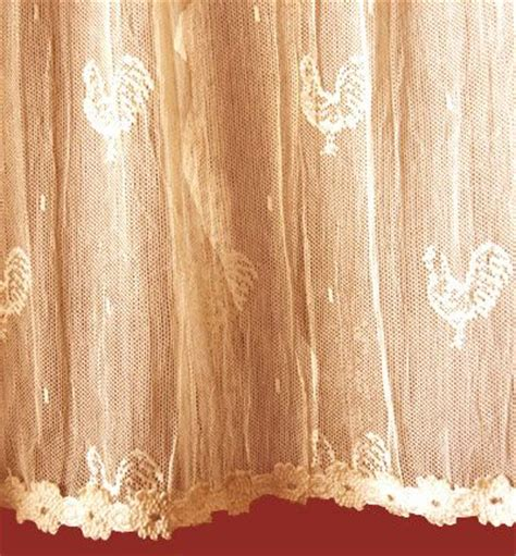 rooster lace curtains pin by olde worlde lace on lace curtains ready made