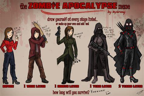Funny Zombie Memes - zombie apocalypse meme