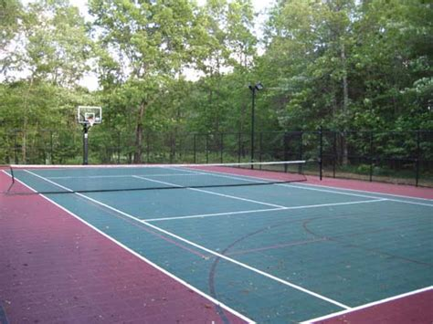 Cost To Build Tennis Court In Backyard by Cost To Build A Tennis Court Sport Court Of Massachusetts