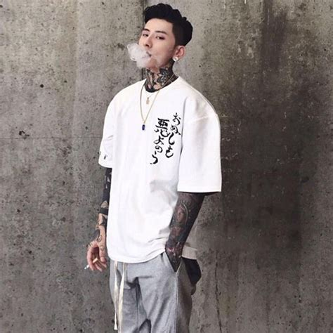 Oversized Printed T Shirt Mens by Oversize Casual Printed T Shirt
