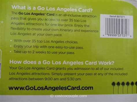 Los Angeles Gift Cards - go los angeles gift card