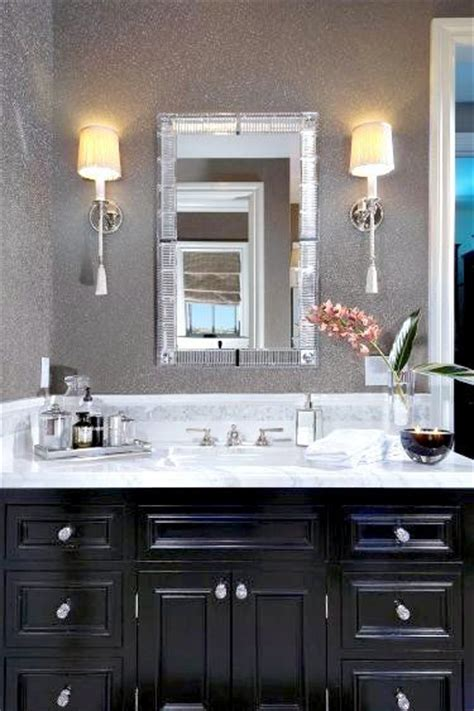 Black Cabinet Bathroom by 1000 Ideas About Black Bathroom Vanities On Bathroom Vanities Black Bathrooms And