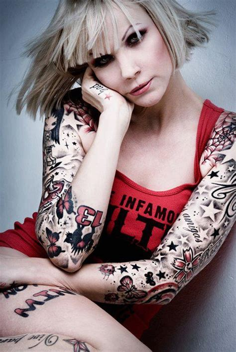 cute girl tattoos designs for on arms and wrists
