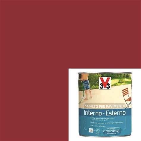 smalto per pavimento smalto per pavimenti interno esterno quot rosso lacca da 2 5