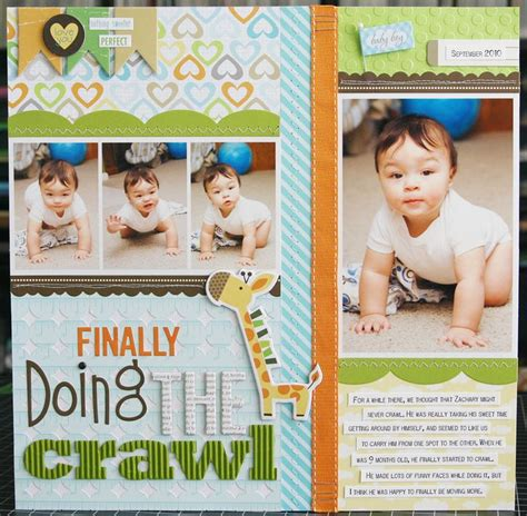 scrapbook layout for baby 698 best baby boy scrapbook page layouts images on pinterest