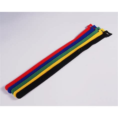 colored velcro colored velcro hook and loop battery 1 2in x 8in