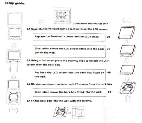 Regler Fußbodenheizung Einstellen thermostat digitale lcd raumtemperaturregler