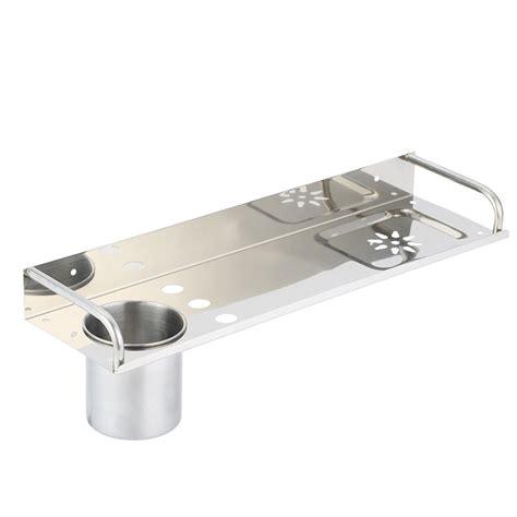 Wall Mount Stainless Steel Bathroom Shelf Single Layers Bathroom Shower Shelves Stainless Steel