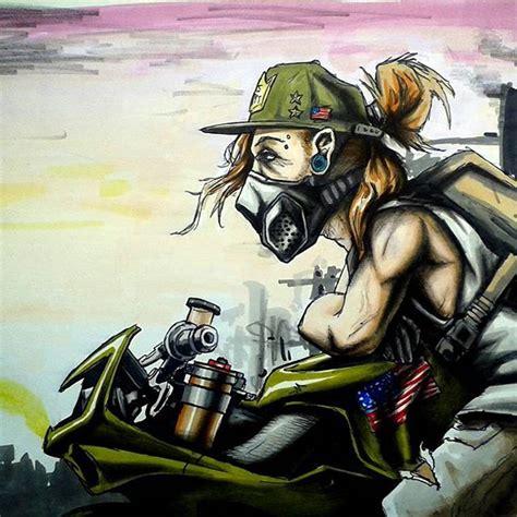 badass motorcycle artwork  scaronistefano