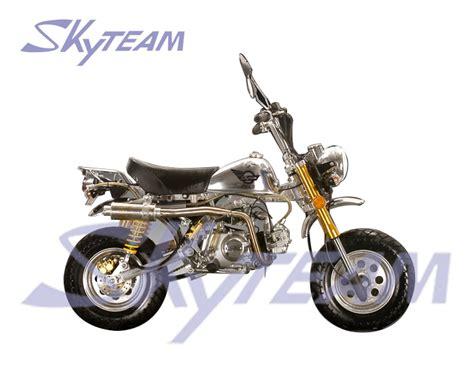 Mini Motorrad Zulassung by Skyteam 50ccm 4 Takt Affen Le Mans Pro Motorrad Ewg