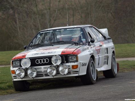audi rally fotos de audi quattro b rally car 1983