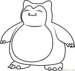 go coloring pages snorlax go coloring page free pok 233 mon go