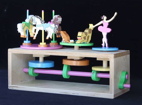 vintage european wood toys collection  forest street