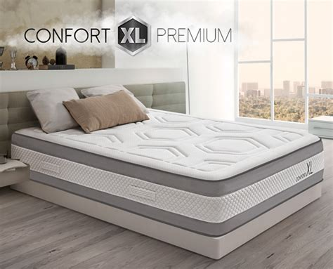 colchon confort colch 243 n viscoel 225 stico confort xl premium de home