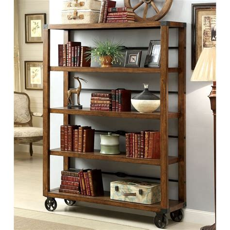 industrial bookcase on wheels 13 best bookcases images on for the home