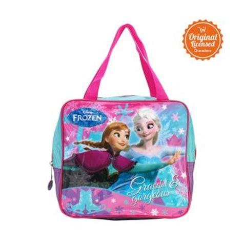 Get1128 Tas Sekolah Anak Tas Frozen The Swan Hijau Merah jual tas anak sekolah harga menarik berkualitas