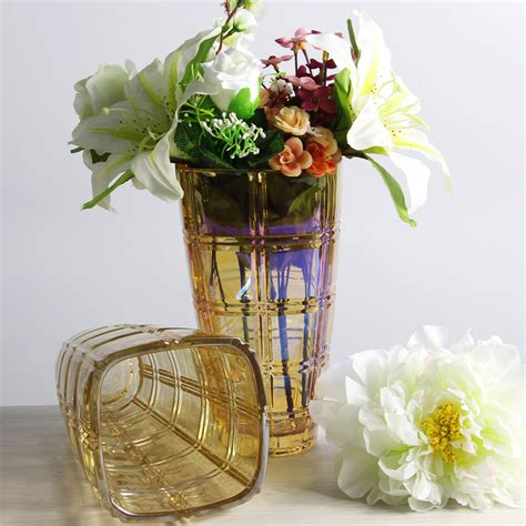 Flower Vases Bulk by Wholesale Vases Electroplating Glass Flower Vases And
