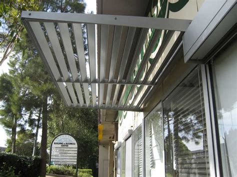 shop awnings sydney aluminium cantilevered awnings retractable awnings