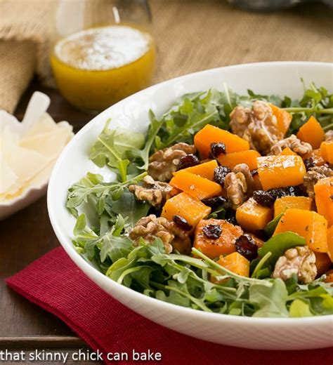 Barefoot Contessa Recipe Index by Arugula Salad With Roasted Butternut Squash