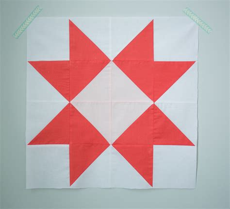 easy quilt pattern youtube quilt block of the month the ribbon star quilt block