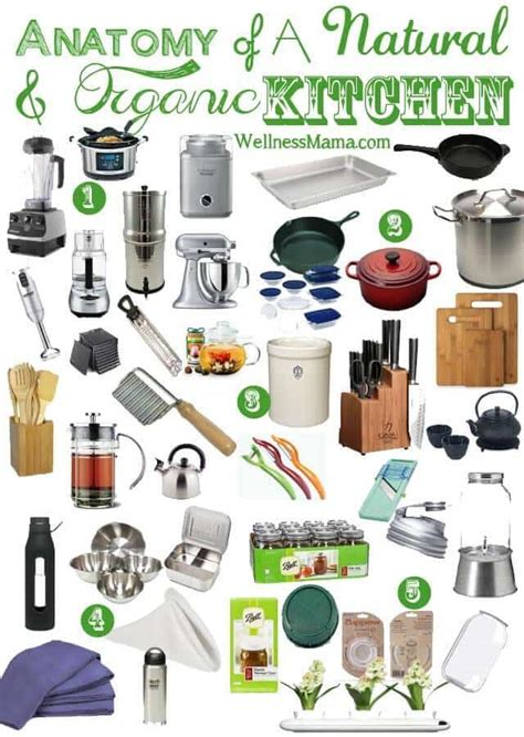 essential appliances for a new home finest kitchen kitchen essential items for a natural kitchen wellness mama
