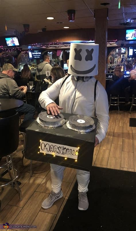 diy dj marshmello costume