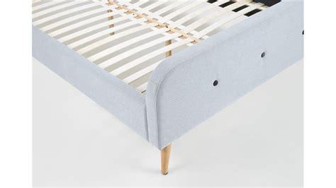 bettgestell mit stoff beziehen bett agnes bettgestell bezug stoff grau 140x200 cm