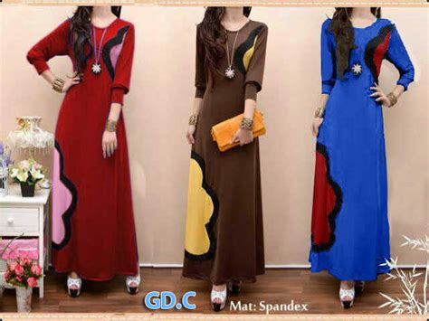 Supplier Baju Shopping Maxy Hc maxi bunga rcb grosir tanah abang baju import