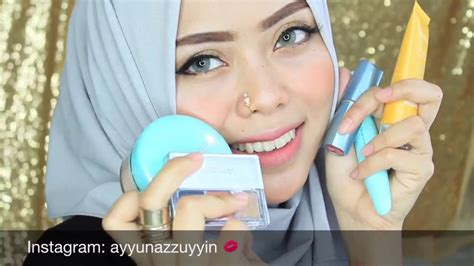 tutorial makeup wardah kosmetik wardah kosmetik one brand makeup tutorial