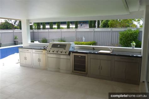 outdoor kitchen ideas australia three top barbeques outdoor kitchens for this summer