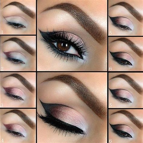 tutorial on eyeliner application eye makeup tutorial with step by step pictures beautiful