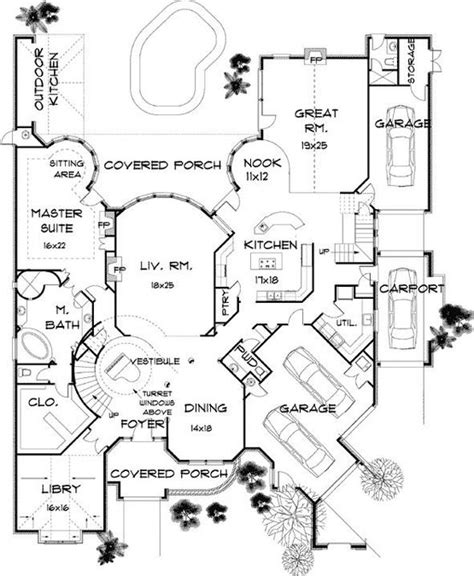 english country home plans 4 bedroom 7 bath english country house plan alp 07rz