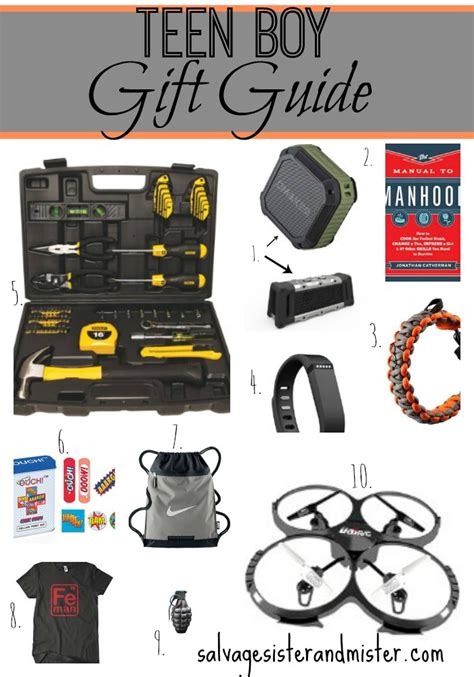 guys gift ideas boy gift guide salvage and mister